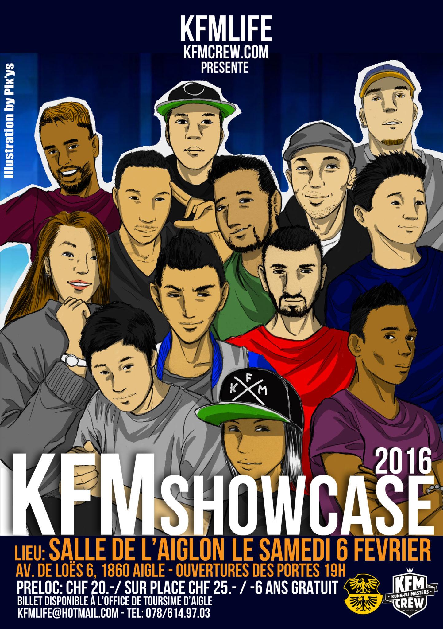 Billets Pré-location KFM Showcase 6 février 2016