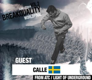Bboy Calle For Breakquality breakdance switzerland by kfm life