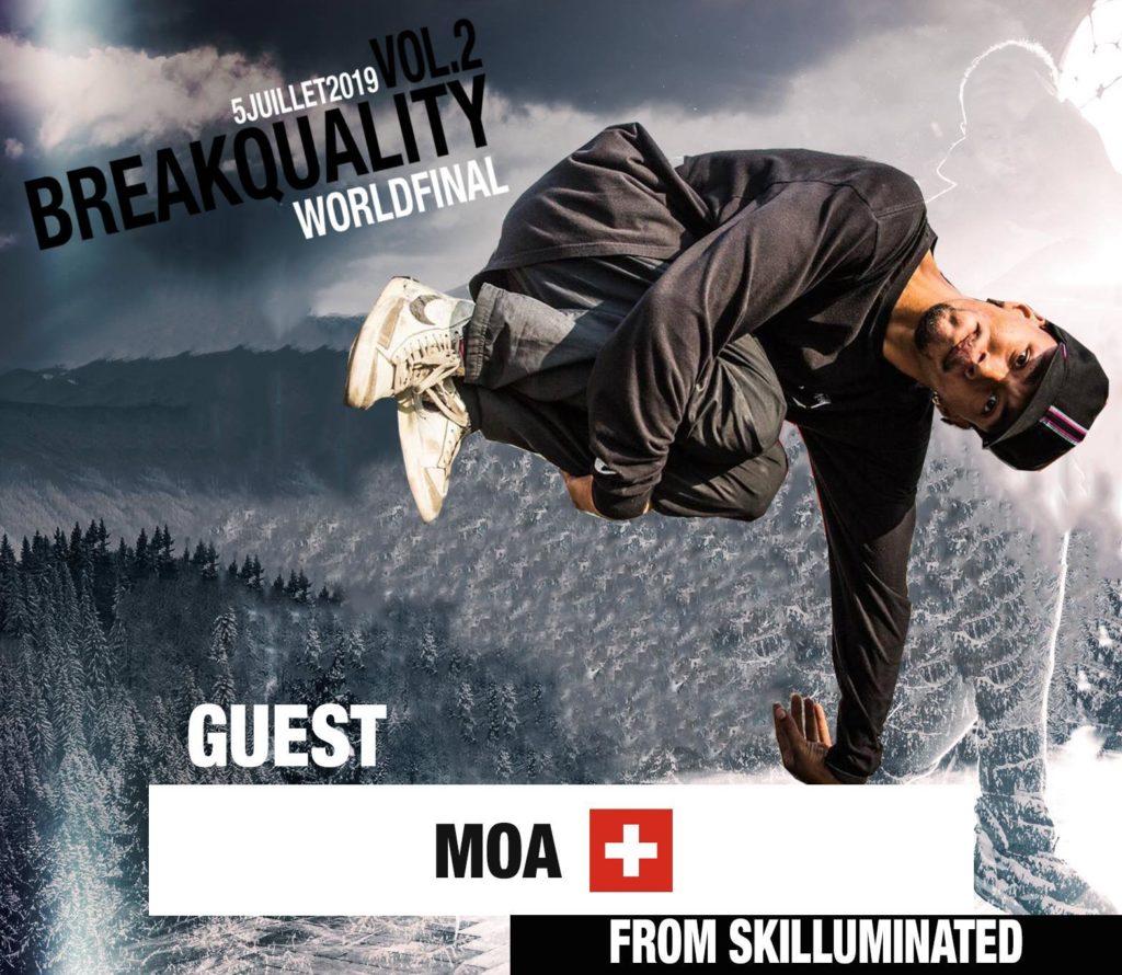 Bboy moa for breakquality KFM Life Switzerland